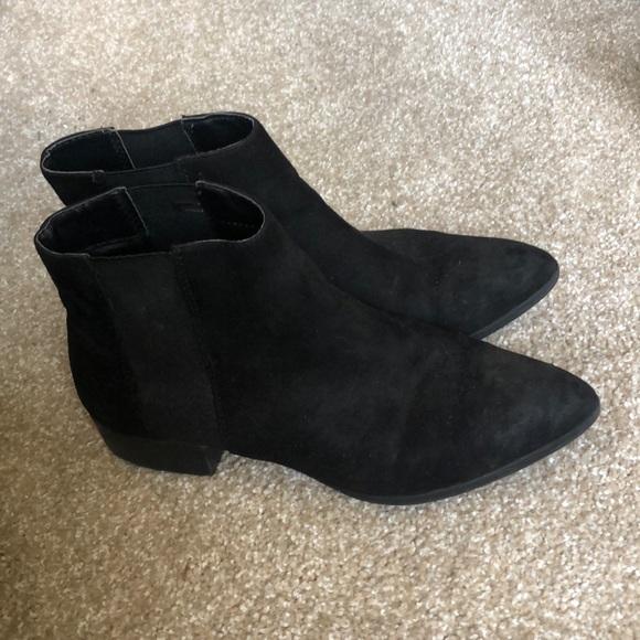 H\u0026M Shoes | Hm Black Ankle Boots | Poshmark